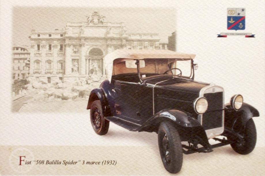 Fiat 508 Balilla Spider 1