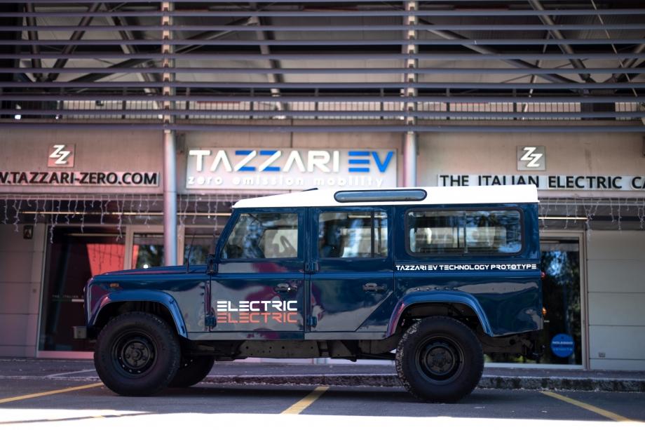 Tazzari EV Electric Defender  3