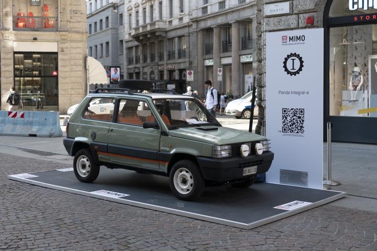 Fiat Panda Integral-e - Pandina Jones