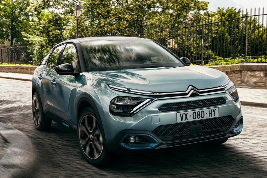 Citroën Nuova Citroën ë-C4 100% ëlectric 3