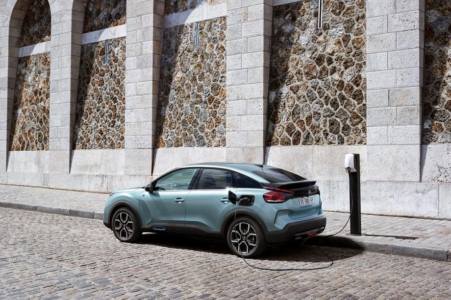 Citroën Nuova Citroën ë-C4 100% ëlectric 4