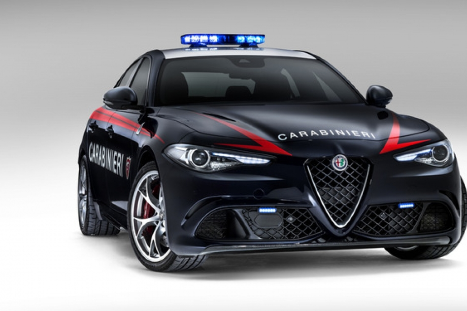 Alfa Romeo Giulia Quadrifoglio 1