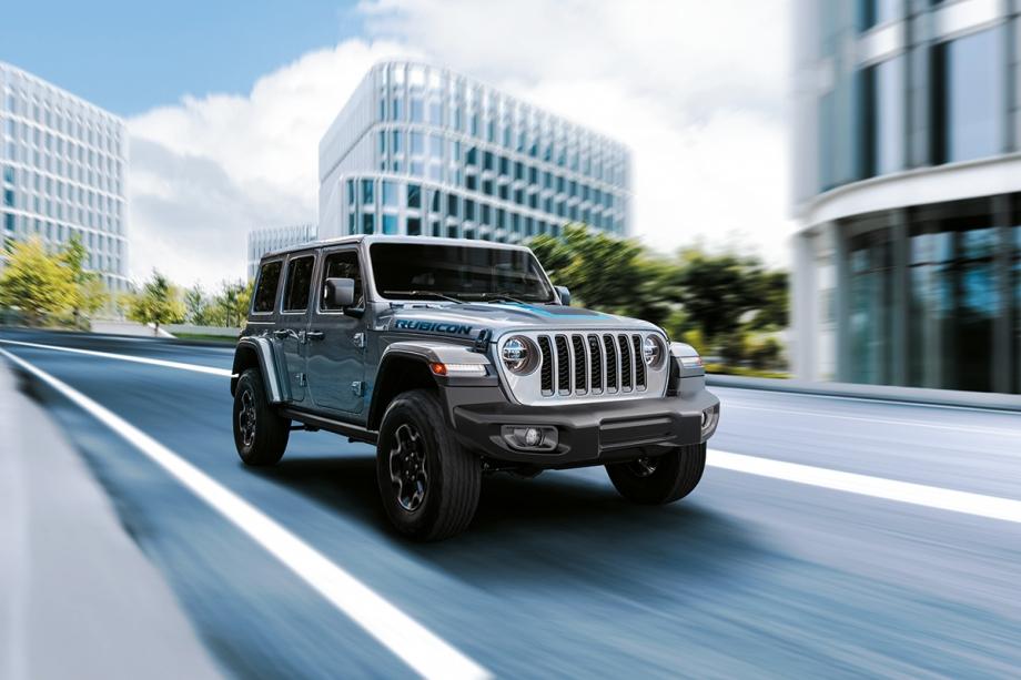 Jeep Nuova Jeep® Wrangler 4xe Plug-In Hybrid  1