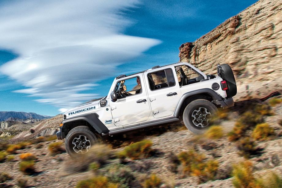 Jeep Nuova Jeep® Wrangler 4xe Plug-In Hybrid  2