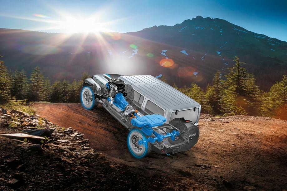 Jeep Nuova Jeep® Wrangler 4xe Plug-In Hybrid  3