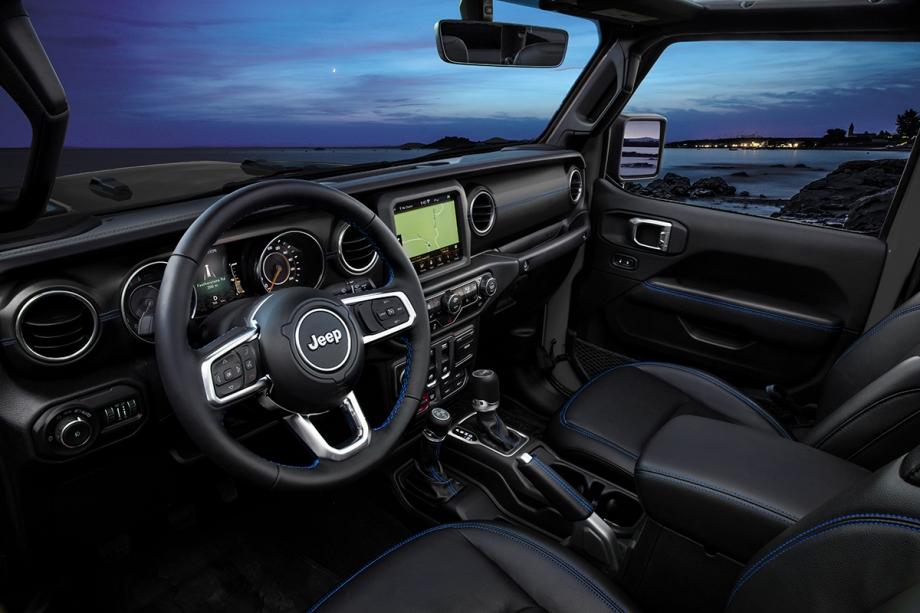 Jeep Nuova Jeep® Wrangler 4xe Plug-In Hybrid  4