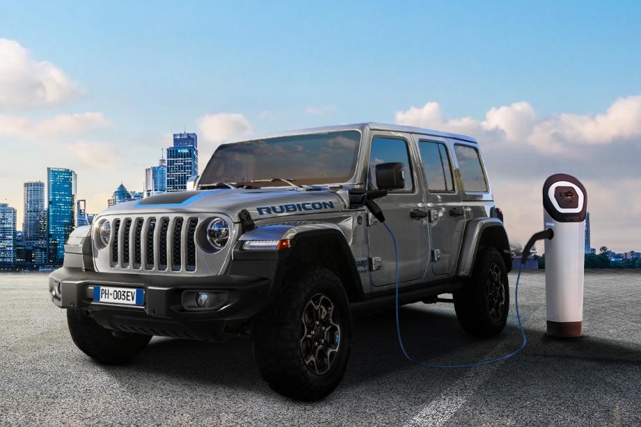 Jeep Nuova Jeep® Wrangler 4xe Plug-In Hybrid  5