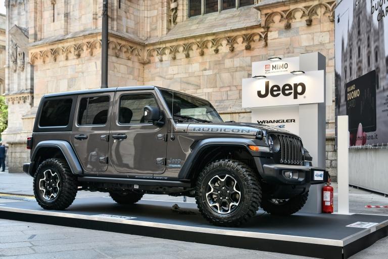 Jeep Nuova Jeep® Wrangler 4xe Plug-In Hybrid