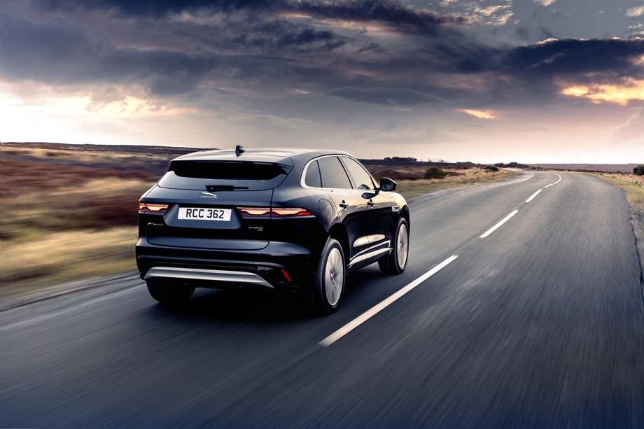 Jaguar F Pace Plug-In Hybrid 2
