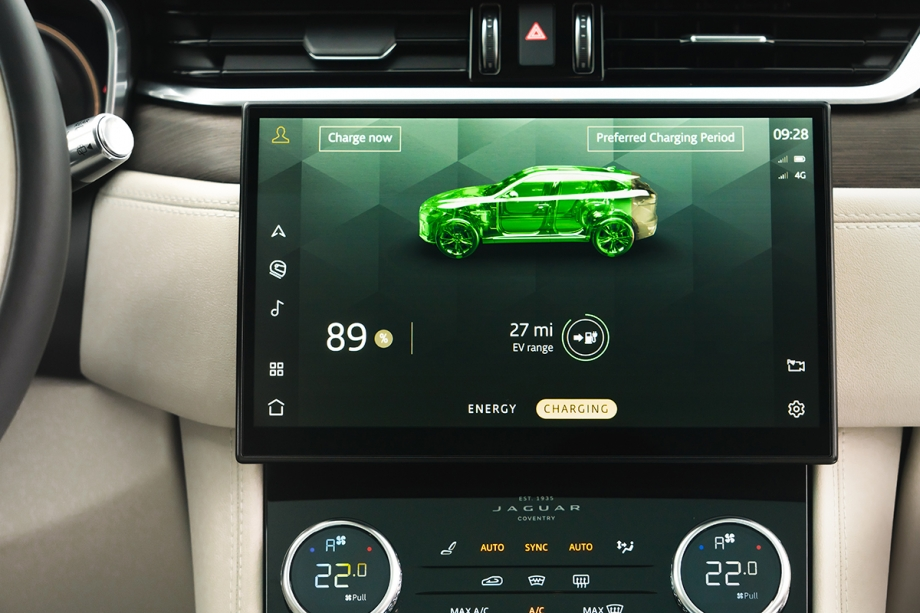 Jaguar F Pace Plug-In Hybrid 4