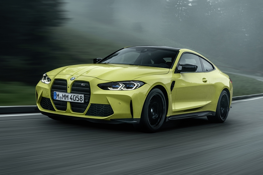 BMW NUOVA BMW M4 COMPETITION COUPE' 1