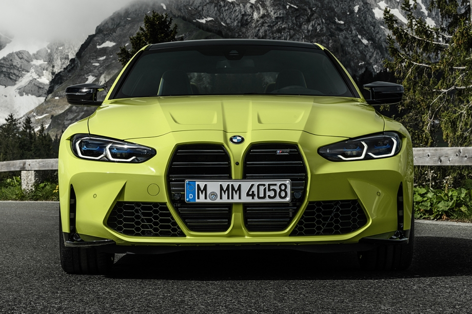 BMW NUOVA BMW M4 COMPETITION COUPE' 2