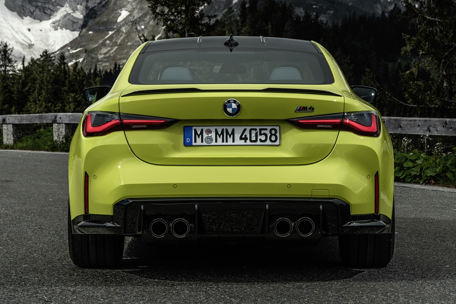 BMW NUOVA BMW M4 COMPETITION COUPE' 3