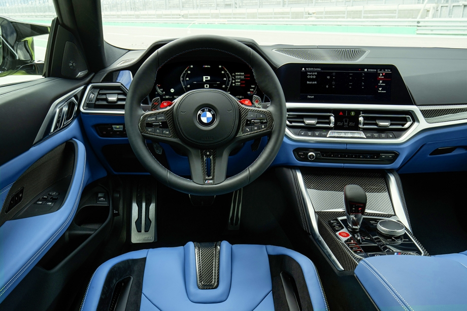 BMW NUOVA BMW M4 COMPETITION COUPE' 6