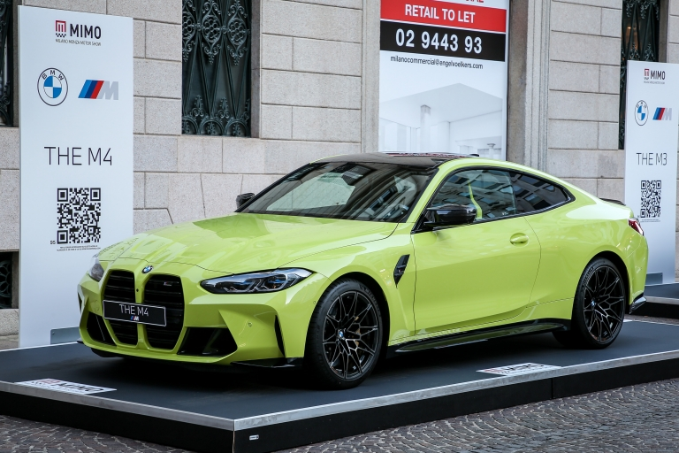 BMW NUOVA BMW M4 COMPETITION COUPE'