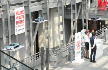 Porta Susa Installation 1 - Salone Auto Torino Parco Valentino