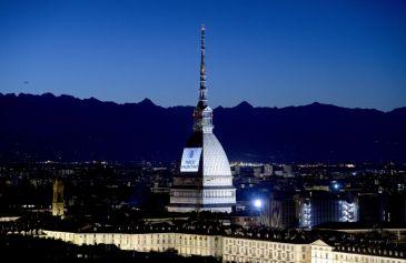 Proiezione Mole Antonelliana 2 - Salone Auto Torino Parco Valentino