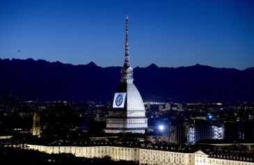 Proiezione Mole Antonelliana 11 - Salone Auto Torino Parco Valentino