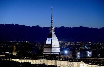 Proiezione Mole Antonelliana 20 - Salone Auto Torino Parco Valentino