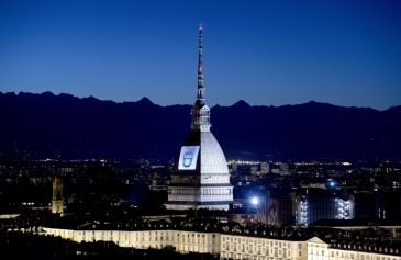 Proiezione Mole Antonelliana 21 - Salone Auto Torino Parco Valentino