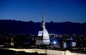 Proiezione Mole Antonelliana 45 - Salone Auto Torino Parco Valentino
