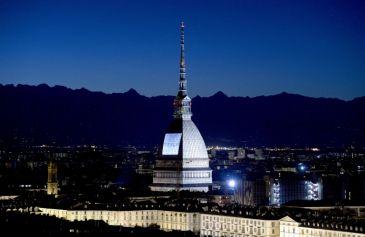Proiezione Mole Antonelliana 55 - Salone Auto Torino Parco Valentino