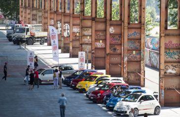 Raduno turin street Abarth 18 - Salone Auto Torino Parco Valentino