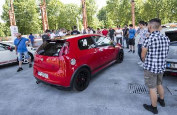 Raduno turin street Abarth 28 - Salone Auto Torino Parco Valentino