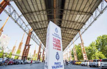 Raduno turin street Abarth 40 - Salone Auto Torino Parco Valentino