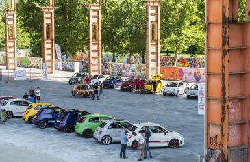 Raduno turin street Abarth 42 - Salone Auto Torino Parco Valentino