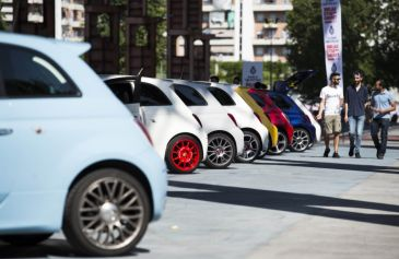 Raduno turin street Abarth 43 - Salone Auto Torino Parco Valentino