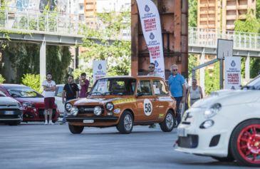 Raduno turin street Abarth 45 - Salone Auto Torino Parco Valentino