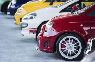Raduno turin street Abarth 55 - Salone Auto Torino Parco Valentino