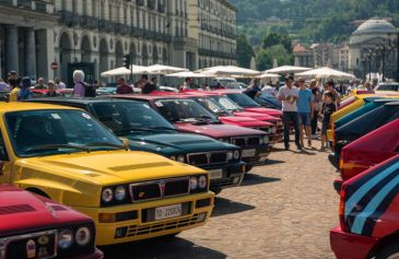 Lancia Delta Sotto la Mole 45 - Salone Auto Torino Parco Valentino