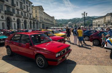 Lancia Delta Sotto la Mole 53 - Salone Auto Torino Parco Valentino