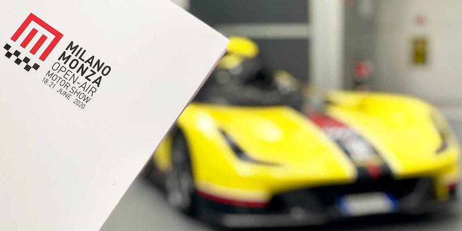 Svelato il logo di Milano Monza Open-Air Motor Show