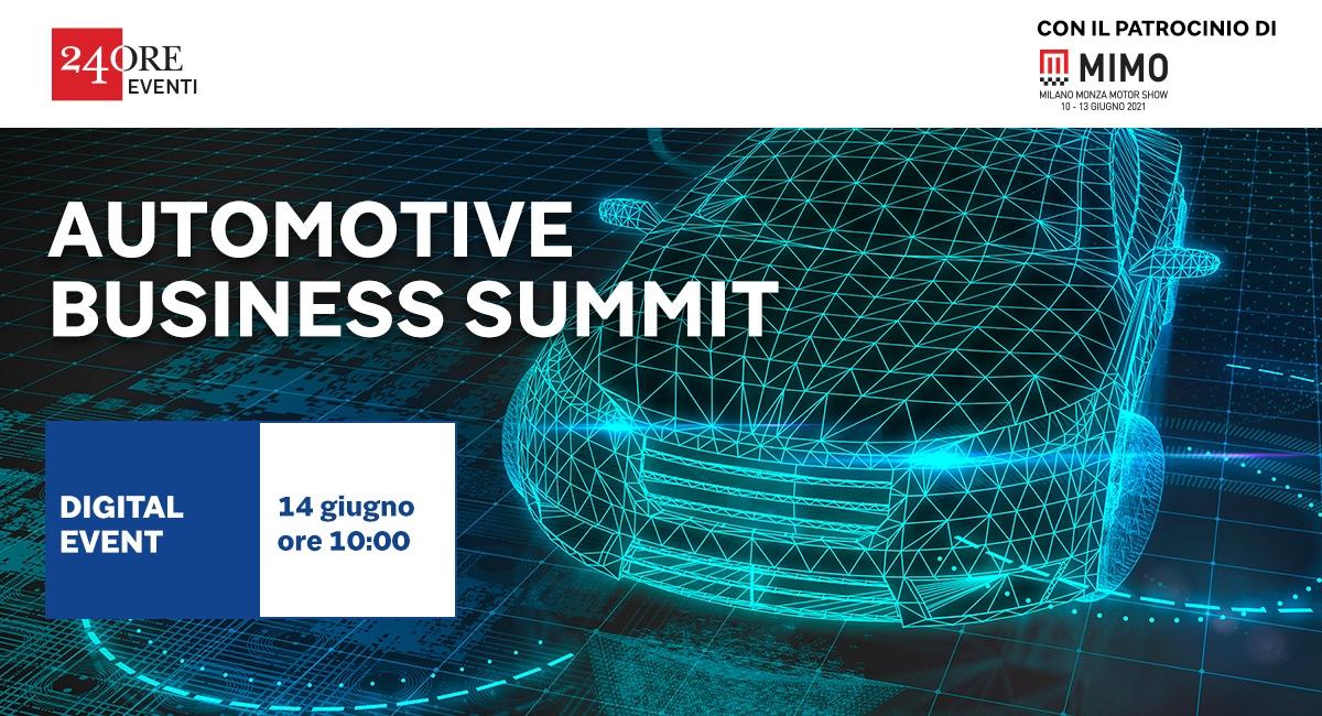 Automotive Business Summit - 14 giugno 2021