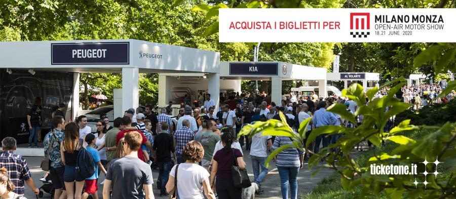 Milano Monza Open-Air Motor Show Tickets