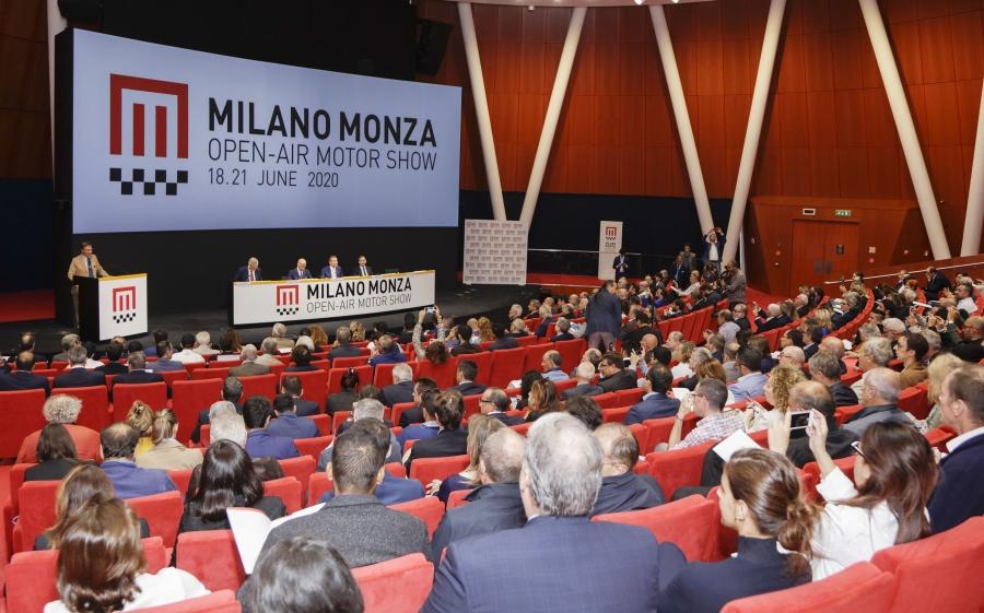 Presentazione ufficiale dell'evento all'Auditorium HQ Pirelli