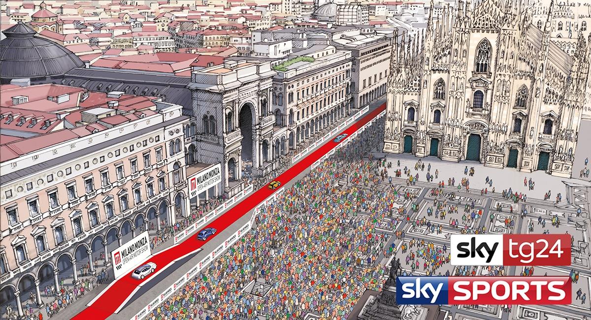 Sky Italia media partner ufficiale del Milano Monza Motor Show