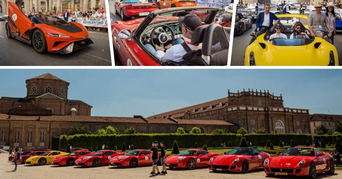 Ritornano il Gran Premio Parco Valentino e la Supercar Night Parade